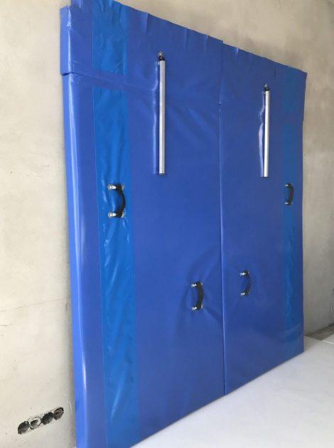 Perete Izoterm Despartitor pentru camion frigorific transport de carne agatata de 22t